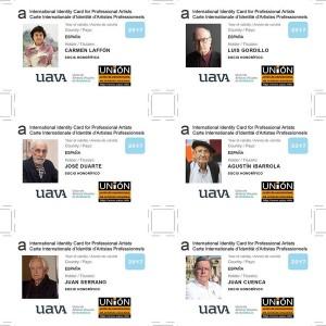 La uavA nombra a sus socios honoríficos